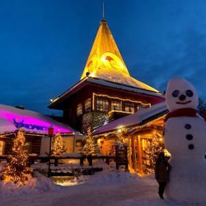 サンタの本場、フィンランドで「サンタクロース村」を満喫!