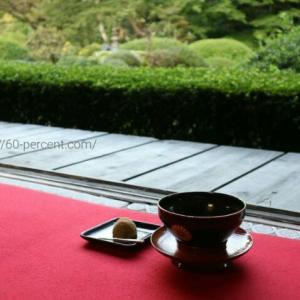 京都の庭園でお抹茶を…|雲龍院のお抹茶はお気に入りの場所で頂けます