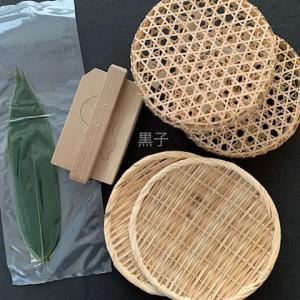 竹かご弁当を作りたい!竹かごと瓢箪の型押し購入。竹ざるは失敗!