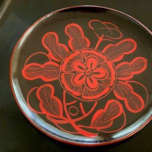 黒と赤のコントラストが美しい【吉野塗】終い天神で買ってきた漆器