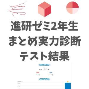 進研ゼミ小2:まとめの実力診断テスト結果【3月】