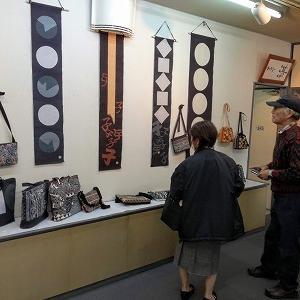 ローケツ染め作品展、カラオケ