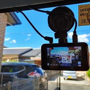 ドライブレコーダー(前後カメラ)取付