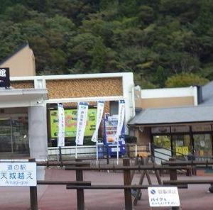 「道の駅天城越え 」横浜から来た夫人の話が気にかかり・((´・ω・`;))