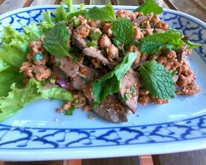 豚肉ラープ タイ料理レシピ#14