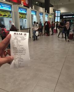 クアラルンプール空港KLIA2 からKLセントラルまでバスで行く