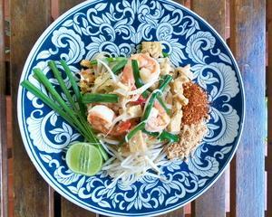 パッタイ Pad Thai Shrimp ผัดไทยกุ้งสด タイ料理レシピ#24