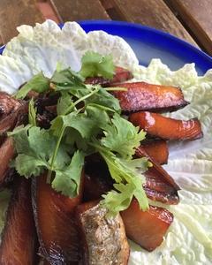 鰹のみりん干し ปลาโอแดดเดียว プラーオーデッディヤオ タイ料理レシピ#25