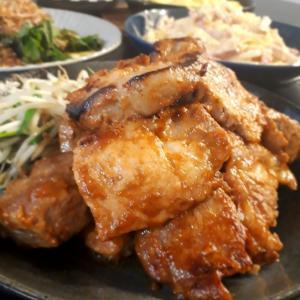 豚肉の味噌漬け焼きでご飯