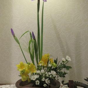 5月「1回目のお花」・・・
