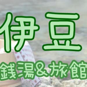 【伊豆地方の良かった温泉】スーパー銭湯&旅館編