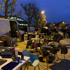 【BLOG】ヨーロッパ買い付け出会いガサガサの旅2019~パリ南の蚤の市とストライキ~