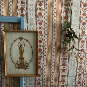 【新着商品】旧東ドイツ時代の聖母マリアの壁かけアート