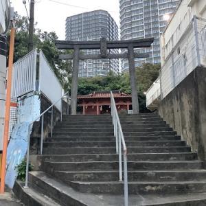 琉球八社|安里八幡宮 街の中の境内