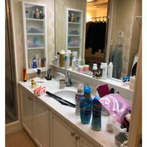【お片づけ実例】家族も楽になった洗面所はお掃除もしやすい♪