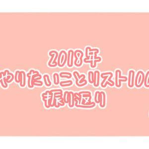 2018年やりたいことリスト100+α振り返り