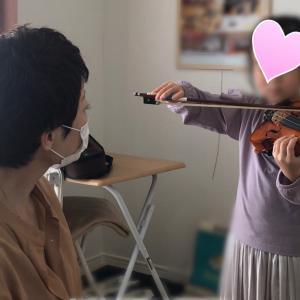 【動画】レッスン風景 〜幼児さん初めてのバイオリン〜