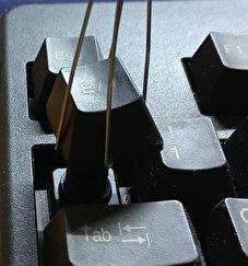 【早めの大掃除】キーボードの掃除