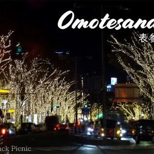 "Beautiful urban Christmas lights ""Omotesando Illumination 2018"" @OMOTESANDO"