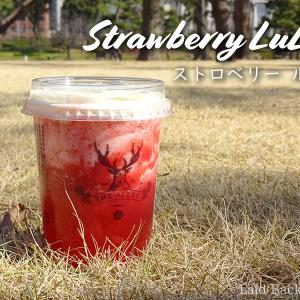 "【The Alley】Cute seasonal strawberry smoothie ""Strawberry LuLu"" @YURAKUCHO"