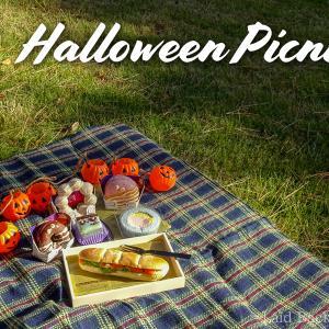 Halloween Picnic in Japanese park