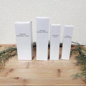 【スキンケア基礎4点セット】モーニュの特許こんにゃくセラミドを配合した洗顔料、化粧水、乳液、クリームのセット