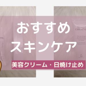 【リピート中】スキンケアのおすすめ【美容クリーム・日焼け止め】