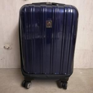 使いやすくておすすめスーツケース【DELSY】ヘリウムエアロ「42+5L」「3.7kg」