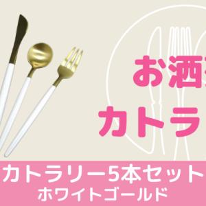 リッチな気分にしてくれるオシャレアイテム【カトラリー5本セット】