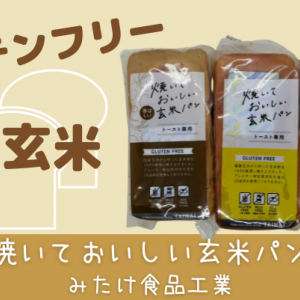国産玄米│グルテンフリー【焼いておいしい玄米パン】みんなで食べれる!