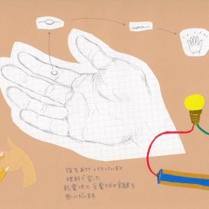 レイキは指1本で流れます