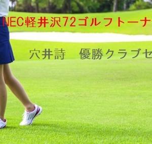 2019穴井詩の優勝クラブセッティング【NEC軽井沢72ゴルフトーナメント】