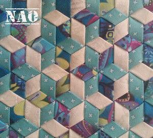 メッシュワークキルト~六角形~