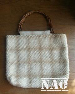 ストレートスラッシュキルトのバッグ
