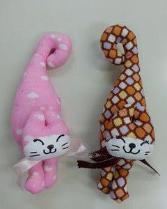 生徒さん完成作品~ネコの香り袋~