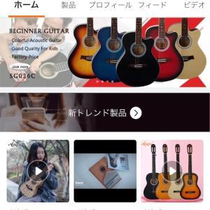 Alibaba.com(アリババジャパン) 初購入! ギター