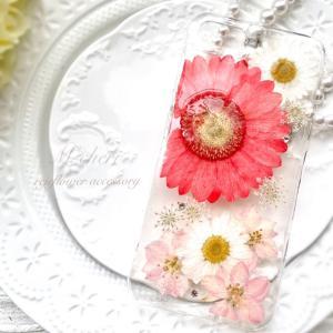 いつまでも見ていたいほどお気に入り♡はじめてのUVレジン押し花スマホケース