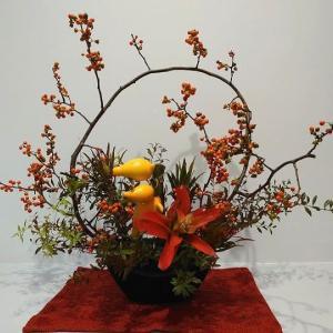 秋の花でつなぐ Ⅱ