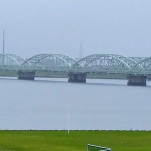 弥富市の海南病院から尾張大橋まで