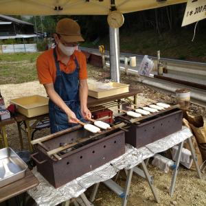 先週月曜日に訪れた豊田市の五平餅
