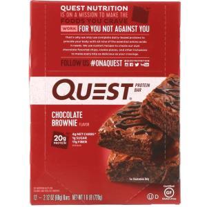 【135食目】クエストバー『チョコレートブラウニー』の実食レビュー