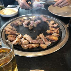 サムギョプサル〜食べ方色々どれが美味しい⁉️