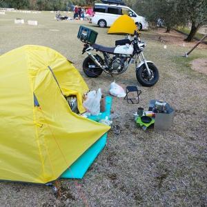 小豆島 キャンプツーリング DAY2