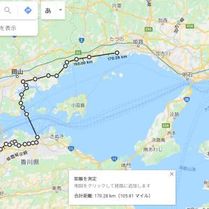 2020 2泊3日四国ツーリング DAY3 直島へ