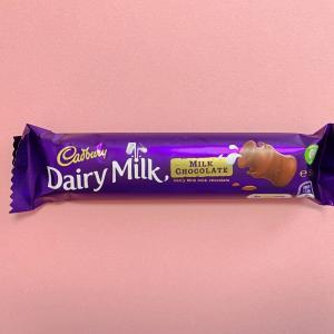 Dairy Milkチョコレートが甘くて美味しい