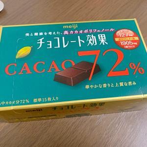 チョコを食べて健康になろう!チョコレート効果72%をレビュー
