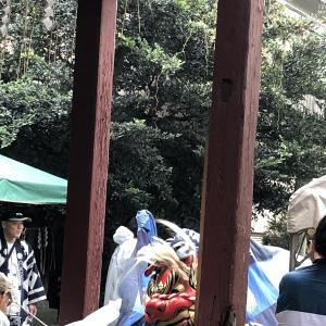 石岡市幸町 日天宮のおまつりだ~~!