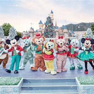 香港ディズニーのクリスマスイベント1 (ショー編)