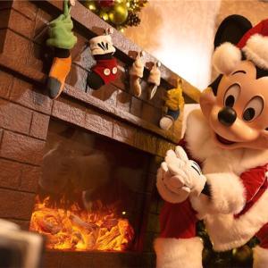香港ディズニーのクリスマスイベント2(グリーティングの場所、時間)