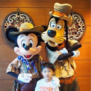 子連れで香港ディズニー2日間でどのくらいキャラクターに会える?グリーティング天国って本当?